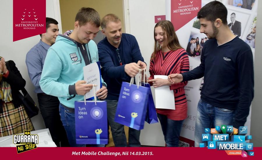 Završeno finale Met mobile challenge 2015 – Niš