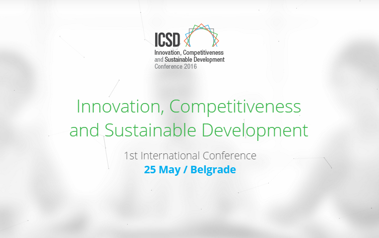 INNOVATION, COMPETITIVENESS AND SUSTAINABLE DEVELOPMENT,  new International Conference of the Faculty of Management