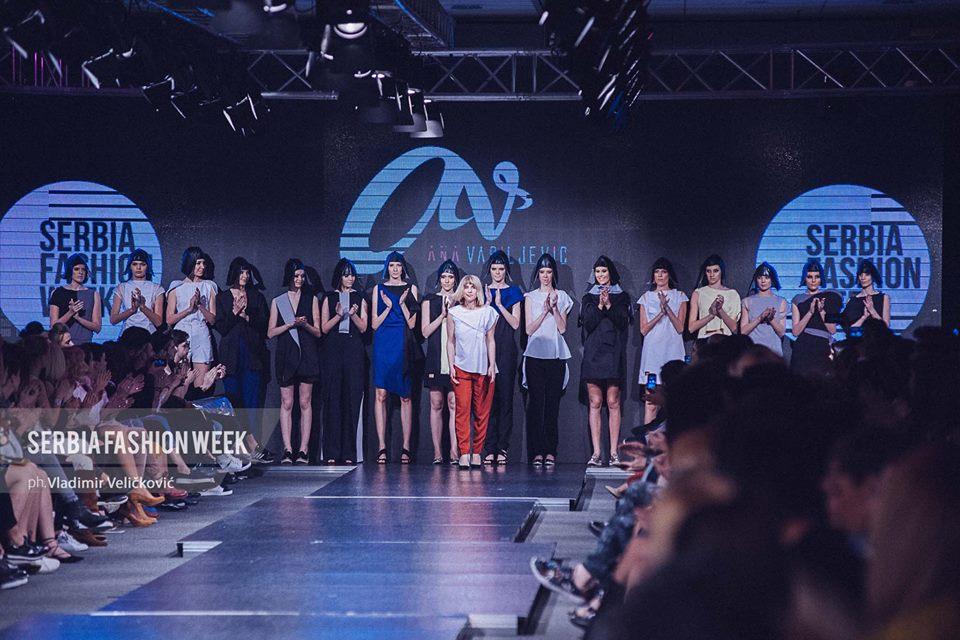 Profesorka Ana Vasiljević predstavila kolekciju na Serbia Fashion Weeku
