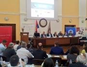 "Dekanka Fakulteta za menadžment prof. dr Ana Bovan govorila je na ""Biznis forumu juga Srbije"""