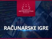 Univerzitet Metropolitan predstaviće studijski program Računarske igre na Međunarodnom festivalu igara u Novom sadu