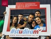 """Univerzitet Metropolitan učestvovao je na manifestaciji """"Igre na vodi"""" u okviru projekta """"#studiram"""""""