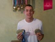 Stipendista Univerziteta Metropolitan Nemanja Tadić osvojio je pet medalja na Evropskim univerzitetskim igrama
