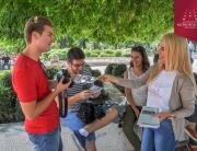 Studenti Univerziteta Metropolitan na 51. Filmskim susretima u Nišu