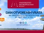 Dan otvorenih vrata za buduće brucoše na Univerzitetu Metropolitan u Beogradu