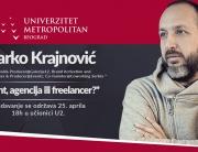 Gostujuće predavanje marketinškog maga Marka Krajnovića na temu – Klijent, agencija ili freelancer?