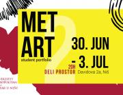 Godišnja izložba radova studenta u Nišu – MET ART student portfolio