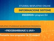 Drugi krug u septembru za Erasmus+ program EU besplatnog online studiranja na Univerzitetu Metropolitan