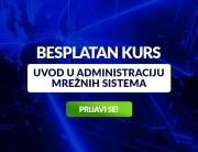 """Besplatan kurs  """"Uvod u administraciju mrežnih sistema"""" na Univerzitetu Metropolitan"""