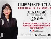 Univerzitet Metropolitan i FEBS Master Class – KOMUNIKACIJA U VISOKOJ MODI