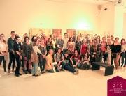 Brucoši Fakulteta digitalnih umetnosti u poseti galeriji Srpske akademije nauka i umetnosti