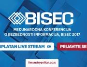 Pratite međunarodnu Konferenciju BISEC 2017 putem live stream-a