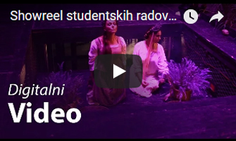 Showreel studentskih radova - Digitalni Video 2016-2017