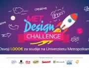 """Otvorene prijave za takmičenje iz oblasti dizajna """"MET Design Challenge"""""""