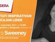 Medijska ličnost i međunarodni govornik Maura Sweeney održaće predavanje na temu liderstva i uticaja