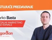 Gostujuće predavanje Marka Baste iz agencije Degordian – Digitalni marketing kroz kanale