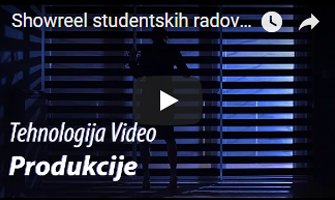 Showreel studentskih radova - Tehnologija Video Produkcije 2016-2017