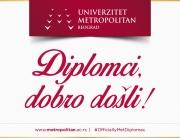 Svečana dodela diploma na Univerzitetu Metropolitan