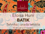 "Eloisa Huni – indonežanska tehnika i izrada tekstila ""Batik"""