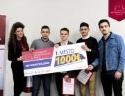 Pobednici Met Mobile Challenge takmičenja u Nišu – tim JDA
