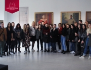 Studenti FDU-a u poseti Muzeju Srpske pravoslavne crkve i galeriji SANU