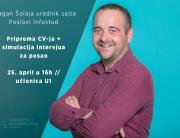 Gostujuće predavanje na Univerzitetu Metropolitan – Dragan Šolaja o pripremi za buduće zaposlenje