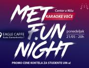 MET fun night u Nišu uz karaoke