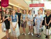 Studenti Modnog dizajna ulepšali vikend posetiocima TC Ušće