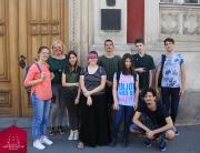 Studenti prve godine Fakulteta digitalnih umetnosti na izletu kroz znamenitosti Zemuna