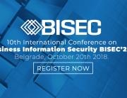 Deseta jubilarna međunarodna BISEC konferencija na Univerzitetu Metropolitan