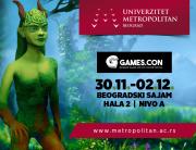 Predstavljanje studijskog programa Računarske igre na najvećem Festivalu gejminga i pop kulture – Games.con