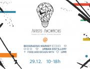 Artists Anonymous fueled and powered by Univerzitet Metropolitan na Beogradskom Marketu