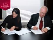 Univerzitet Metropolitan i kompanija Sport Vision  potpisali sporazum o saradnji