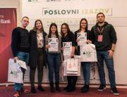 """""""Poslovni izazov"""" u Novom Sadu i 1. mesto za tim Marka Dadića studenta FAM-a"""