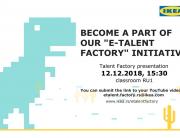 IKEA e-Talent Factory Internship na Univerzitetu Metropolitan