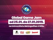 Univerzitet Metropolitan i ove godine deo najvećeg gejmerskog događaja – Global Game Jam 2019.