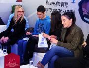 Studenti MET-a na 54. Međunarodnom salonu automobila i poseti štandu Kompanije Dunav osiguranje