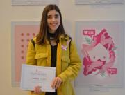 Rad studentkinje Slađane Ljubić među 10 najboljih u okviru konkursa Pink Ribbon Serbia