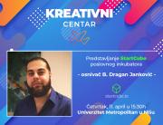 Poslovni inkubator StartCube u Kreativnom centru