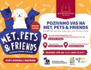 """MET, Pets & Friends – humanitarna akcija Metropolitana za Udruženje za brigu o životinjama """"BETA BEOGRAD"""""""