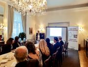 Profesorka Ana Bovan predstavila Novi zakon o lobiranju u ambasadi Belgije