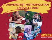 Veliki kreativni atelje Univerziteta Metropolitan na Nišville-u