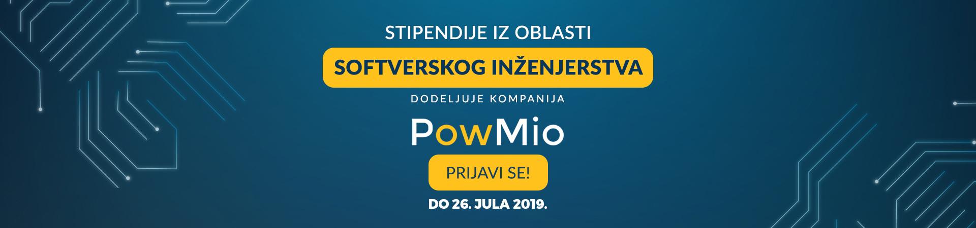 Stipendije iz oblasti Softverskog inženjerstva dodeljuje kompanija PowMio
