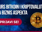 Bitkoin i kriptovalute sa biznis aspekta – još jedan kurs sa radionicama na Univerzitetu Metropolitan