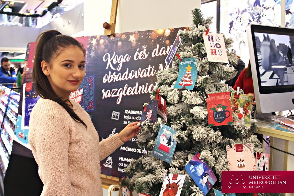 MET novogodišnje razglednice i humanitarne akcije za srećnije detinjstvo naših drugara iz Udruženja NURDOR