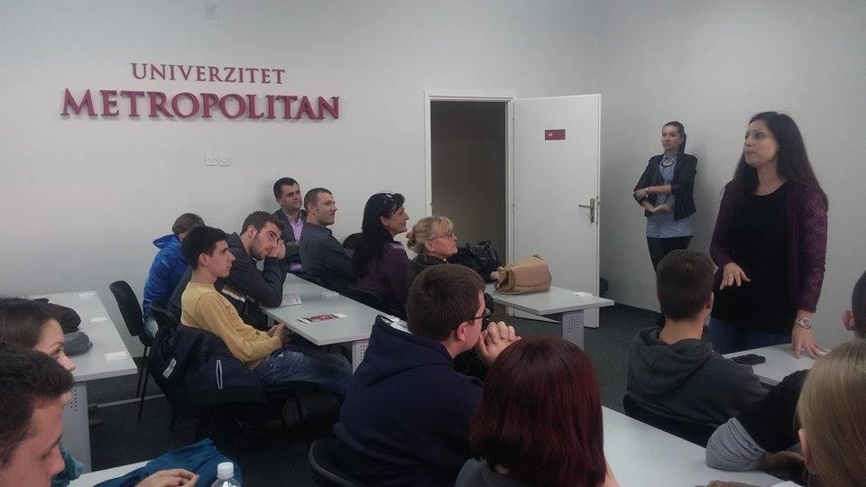 Učešće Univerziteta Metropolitan na Evropskoj nedelji programiranja